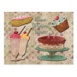 Mommas Old Fashioned Desserts Post Card