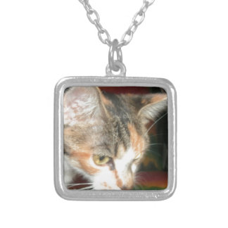 Mommas Watching Silver Plated Necklace