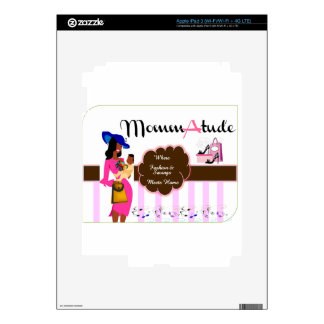 MommAtude Style Decal For iPad 3