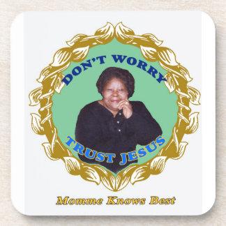 Momme Knows Best Beverage Coaster