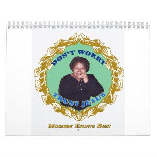 Momme sabe mejor calendarios de pared