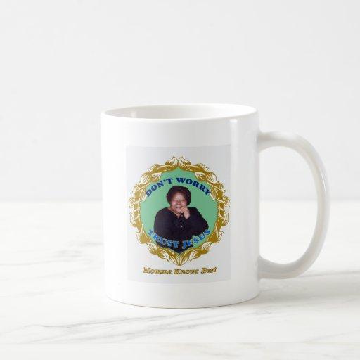 MommeKnowsBest Classic White Coffee Mug