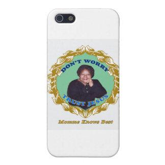 MommeKnowsBest iPhone 5 Carcasas