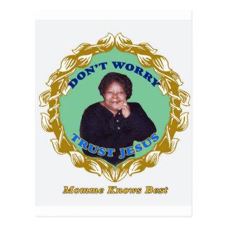 MommeKnowsBest Postcard