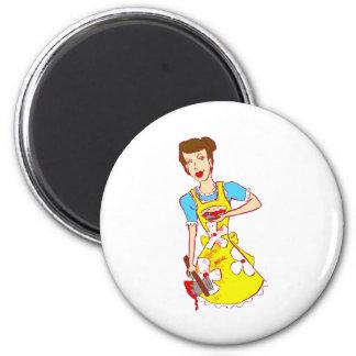 Mommie Dearest 2 Inch Round Magnet