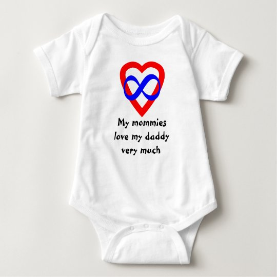 Mommies Love Daddy Baby Bodysuit