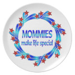 Mommies Make Life Special Party Plate