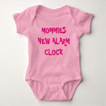 MOMMIES NEW ALARM CLOCK BABY BODYSUIT