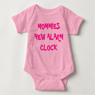MOMMIES NEW ALARM CLOCK TEE SHIRT