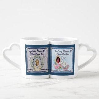 MomMom and PopPop Lease Love Mugs Couples' Coffee Mug Set