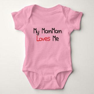 MomMom me ama Body Para Bebé