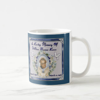 MomMom PopPop Lease Memorial Coffee Mug