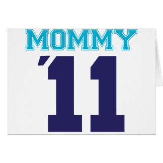 mommy  2011 blue card