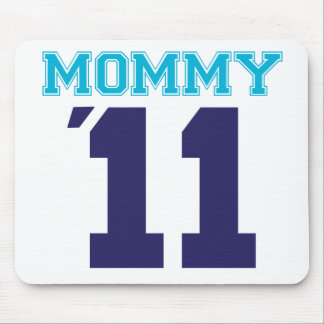 mommy  2011 blue mouse pad