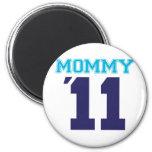 mommy  2011 blue refrigerator magnet
