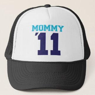 mommy  2011 blue trucker hat