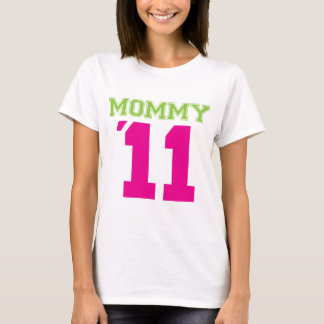 Mommy 2011 pink T-Shirt