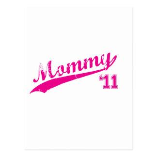 mommy 2011 postcard