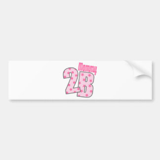 Mommy 2 B (Pink) Bumper Stickers