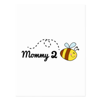 Mommy 2 Bee Postcard