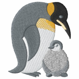 Mommy and Baby Penguin