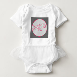 Mommy and Daddy Love Me Baby Clothes Baby Bodysuit