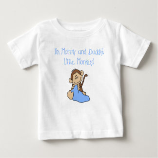 Mommy and Daddy's Boy Monkey Infant T-shirt