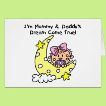 Mommy and Daddy's Dream Tshirts and Gifts Card