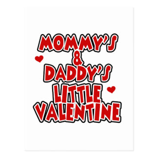 Mommy and Daddy's Little Valentine Postcard