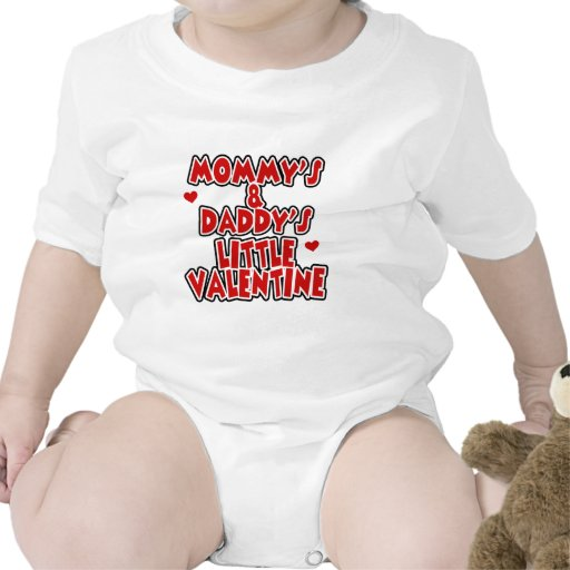 Mommy and Daddy's Little Valentine Tees