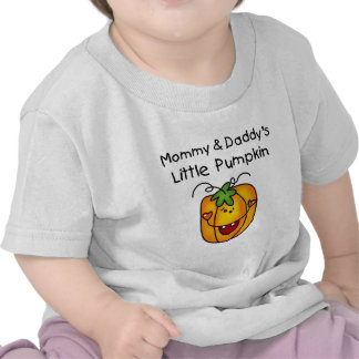Mommy and Daddy's Pumpkin Tshirts and Gifts