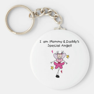 Mommy and Daddy's Special Angel Keychain