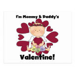 Mommy and Daddy's Valentine - Girl Cupid Post Cards