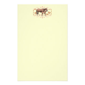 Mommy And Foal Stationery