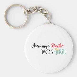 Mommy's Devil, Avo's Angel Keychains