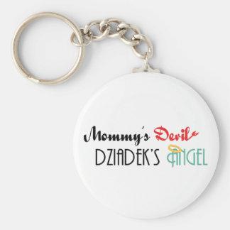 Mommy's Devil, Dziadek's Angel Keychain