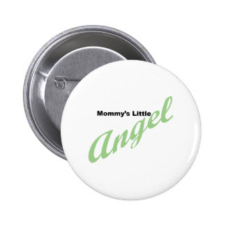 Mommy's Little Angel Pinback Button