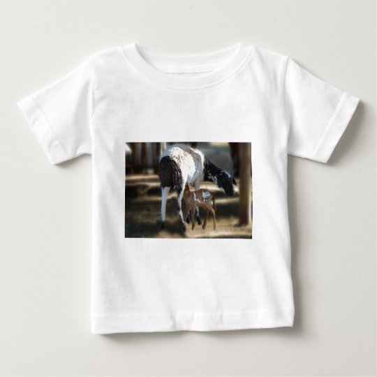 Mommy & Baby Goat Baby T-Shirt
