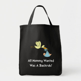 Mommy Backrub Tote Bag