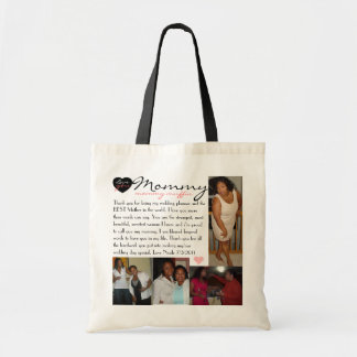 Mommy Budget Tote Bag