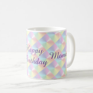 Mommy Birthday Diamond Shimmer Mug by Janz