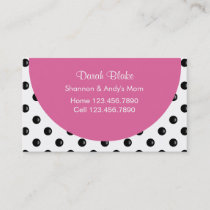 Mommy Business Cards