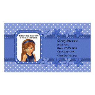 Mommy Calling Card Business Card Template