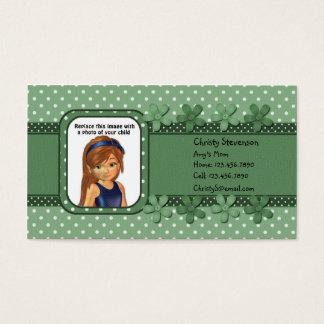Mommy Calling Card pocket calendar 2011