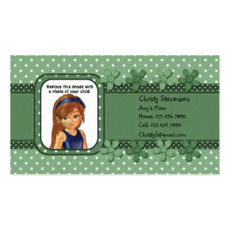 Mommy Calling Card pocket calendar 2011 Business Card