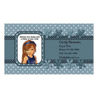 Mommy Calling Card pocket calendar 2011 Business Card Templates