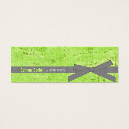 Mommy Calling Cards (Light Green)
