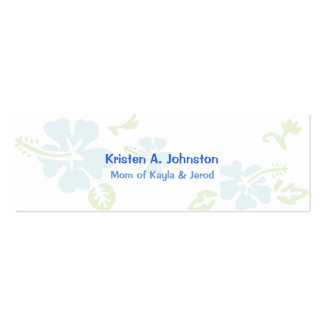 Mommy card, personal calling card Double-Sided mini business cards (Pack of 20)