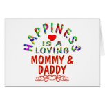 Mommy & Daddy Happiness Cards