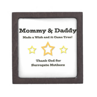 Mommy & Daddy made a wish and it came true! Keepsake Box